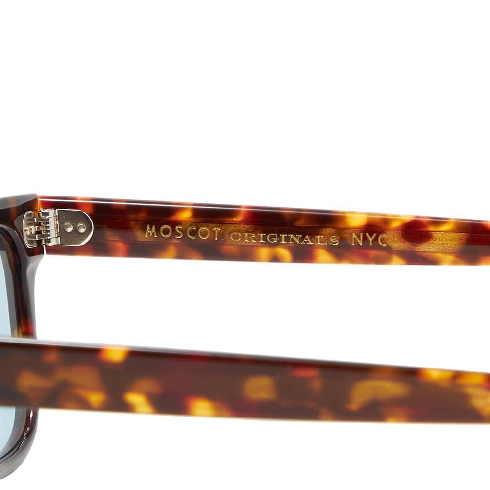 Moscot Kavell Sunglasses - Blue & Tortoise
