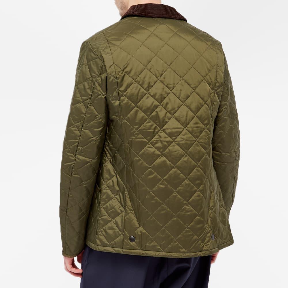 Barbour Heritage Liddesdale Quilt Jacket - Olive