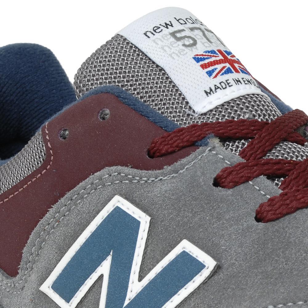 New Balance M577GBN - Pre-Order - Grey & Maroon