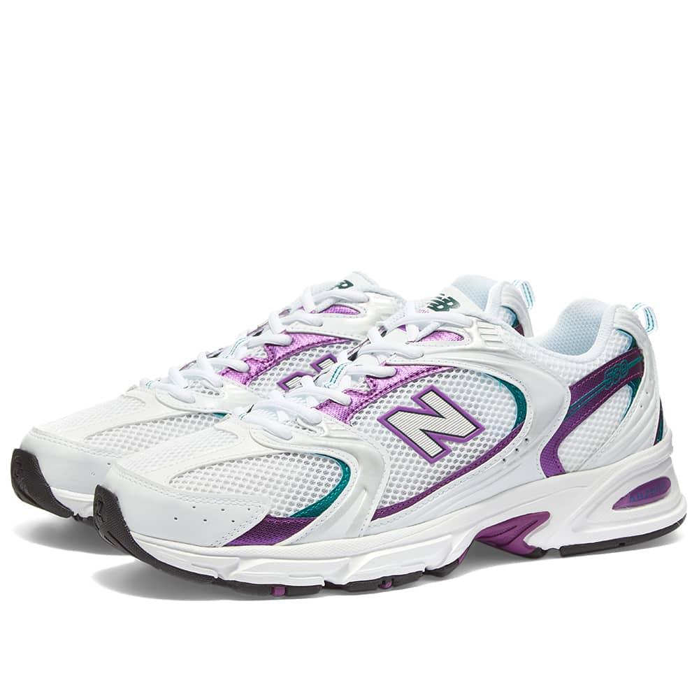 coro termómetro núcleo  New Balance MR530SF White & Purple | END.