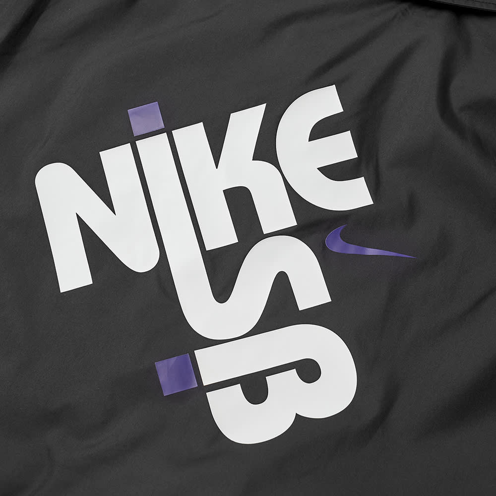 Nike SB Coaches Jacket - Black & White