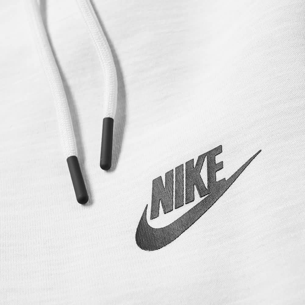 Nike Tech Fleece Heather Jogger - Dark Platinum, White & Black