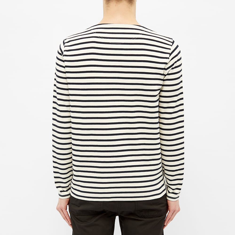 Norse Projects Long Sleeve Godtfred Classic Compact Tee - Ecru
