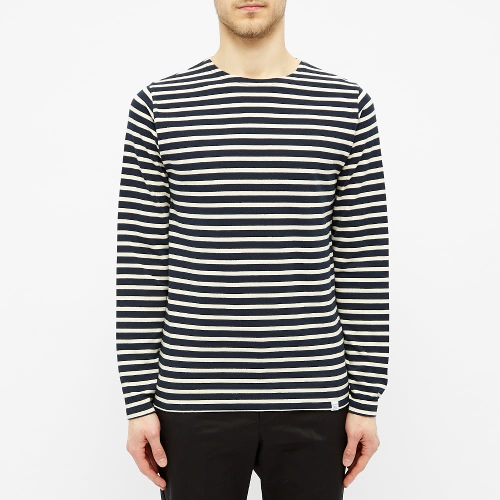 Norse Projects Long Sleeve Godtfred Classic Compact Tee - Navy