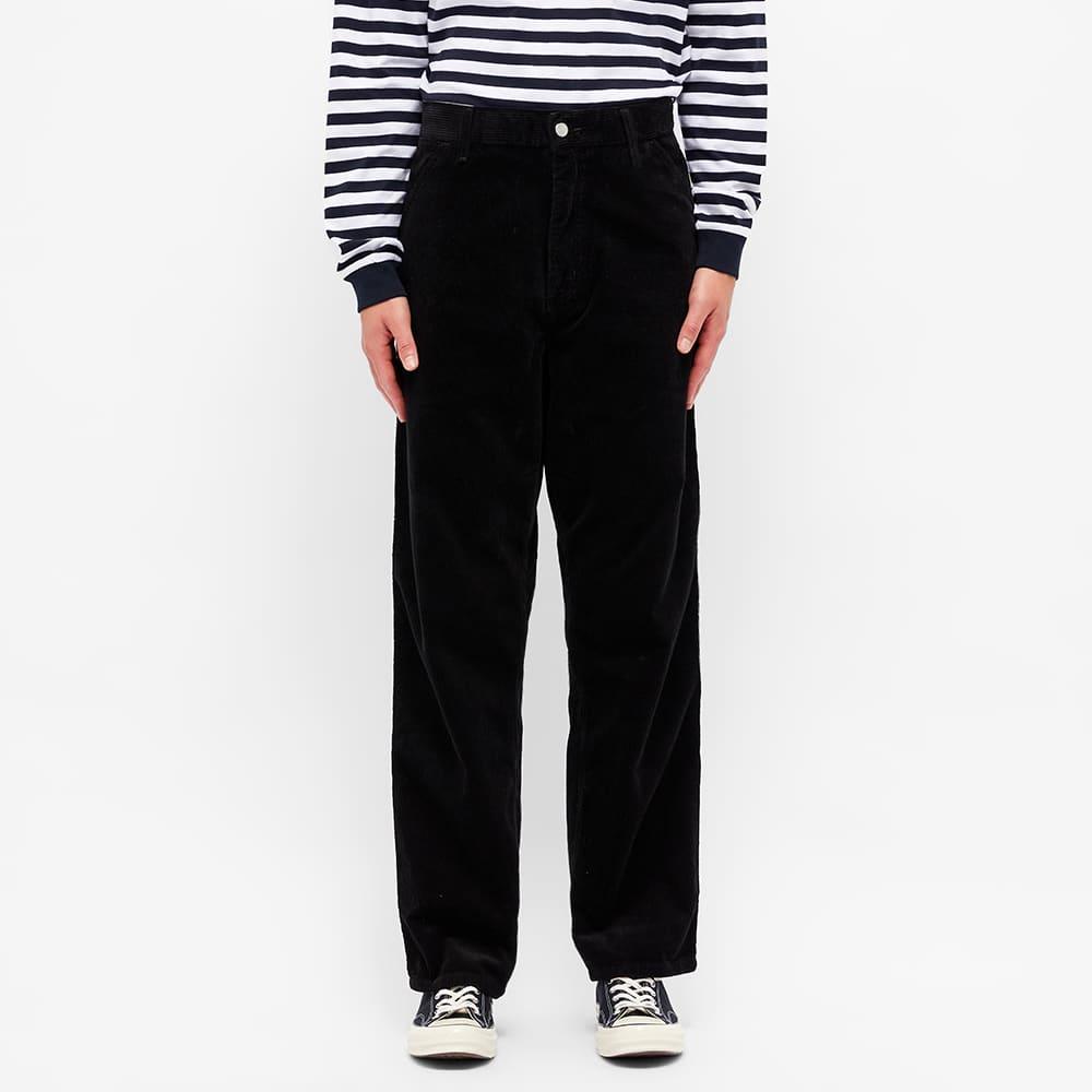 Pop Trading Company x Carhartt Single Knee Pant - Black