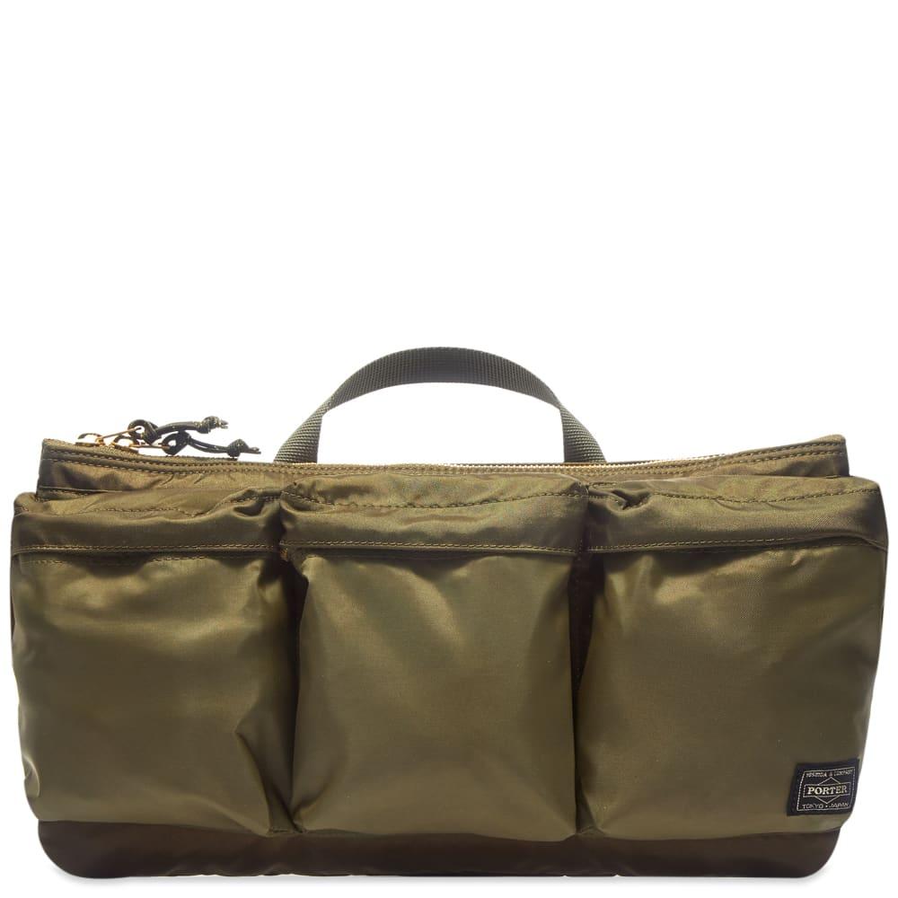 Porter-Yoshida & Co. Force Waist Bag - Olive Drab