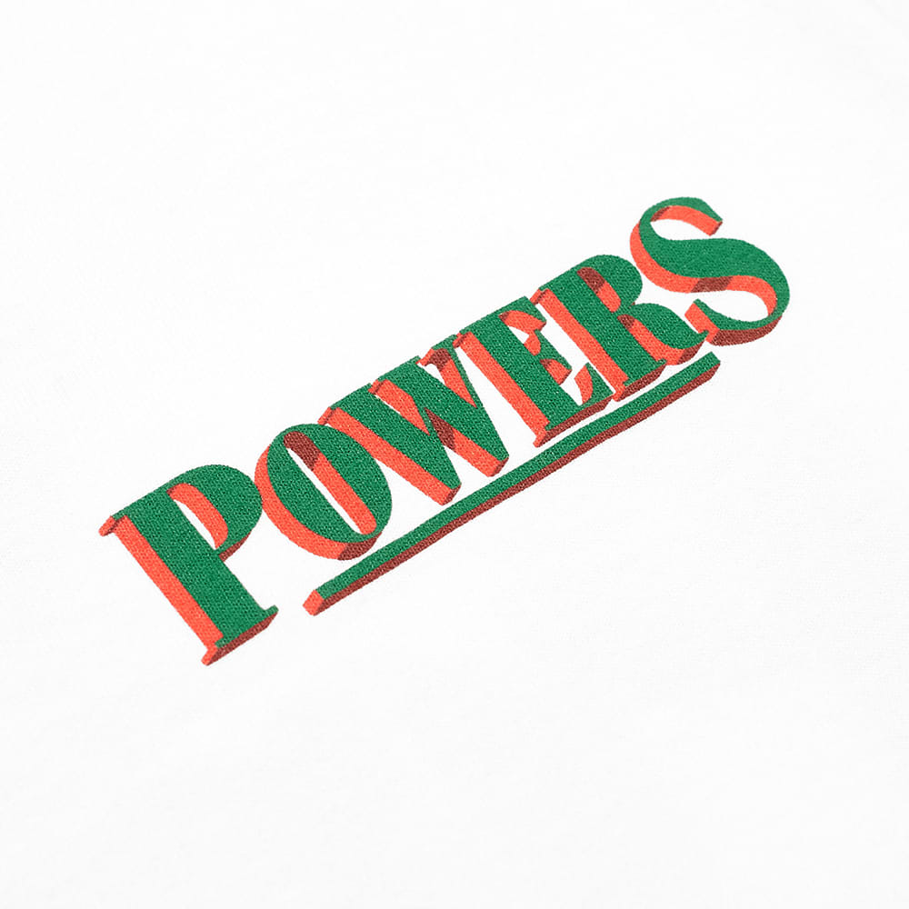POWERS The Powers That Be Tee - White