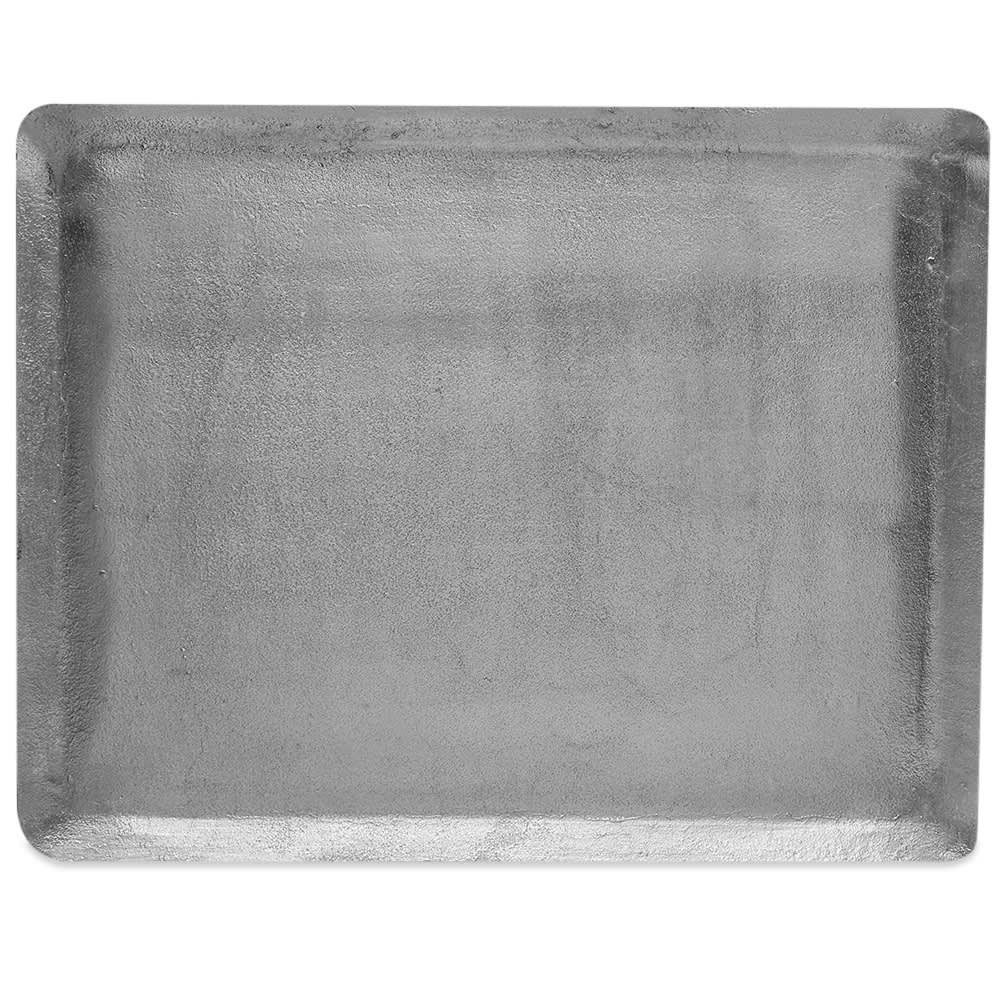 Puebco Large Aluminium Tray - Grey