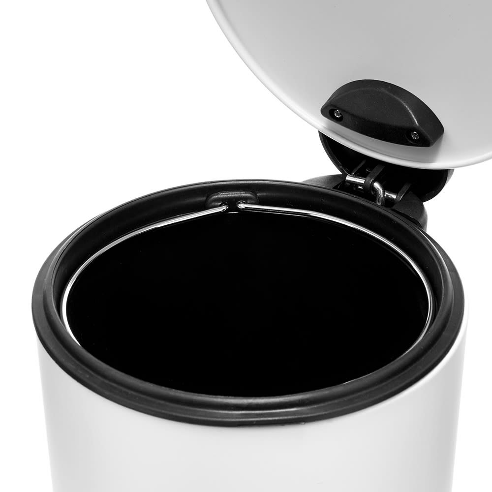 Puebco Trash Can - White