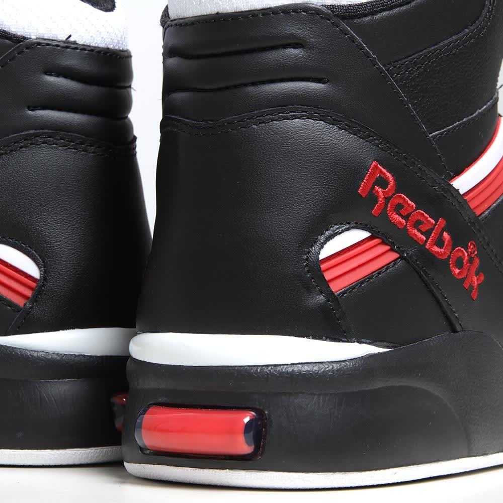 Reebok Twilight Zone Pump - Black, White & Reebok Red