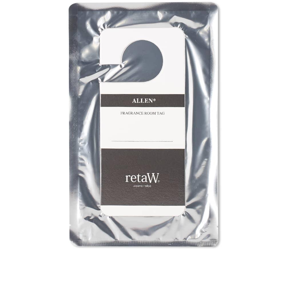 retaW Fragrance Room Tag - Allen*