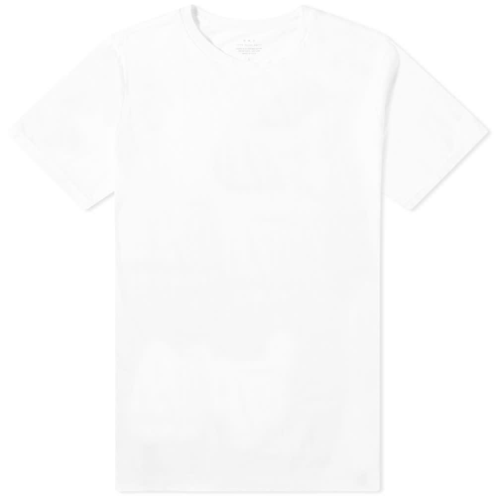 Save Khaki Supima Crew Tee - White
