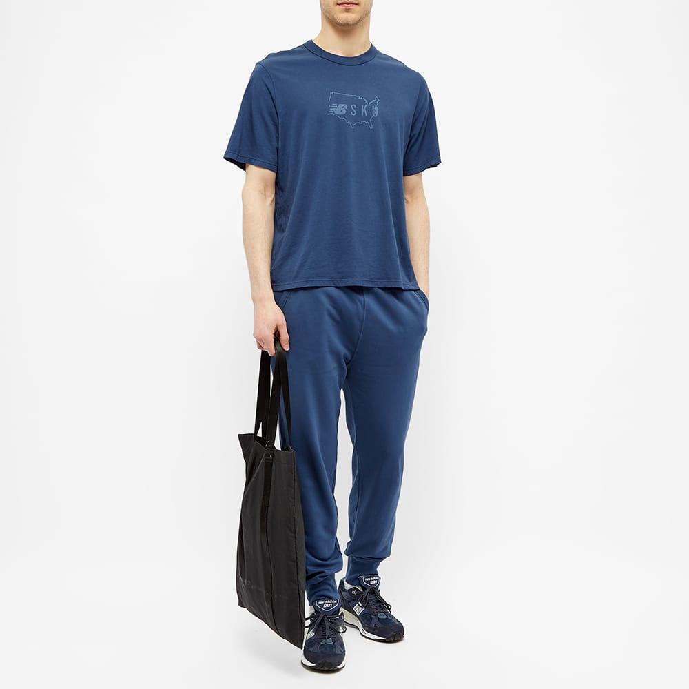 Save Khaki x New Balance Supima Jersey Icon Print Sport Tee - Indigo