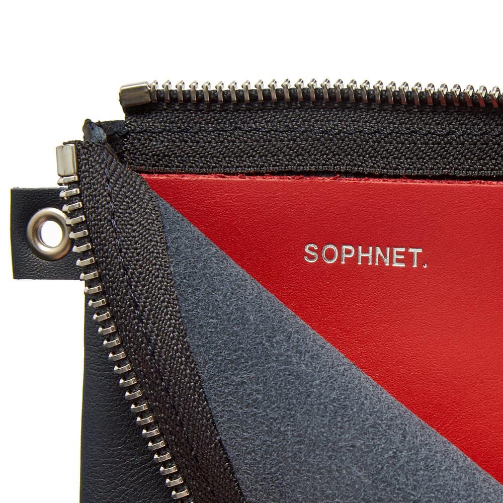 SOPHNET. Small Wallet - Navy