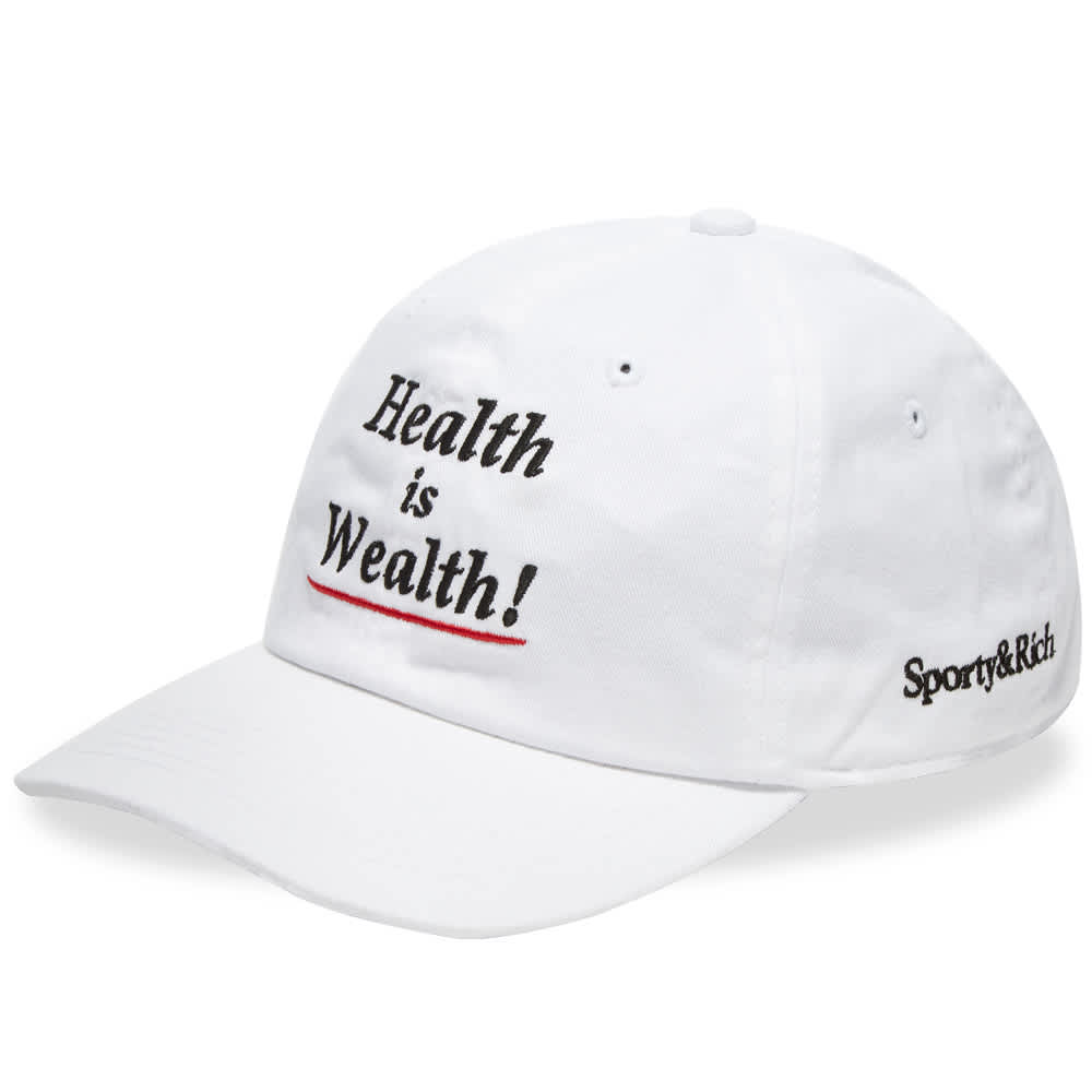 Sporty & Rich Health is Wealth Hat