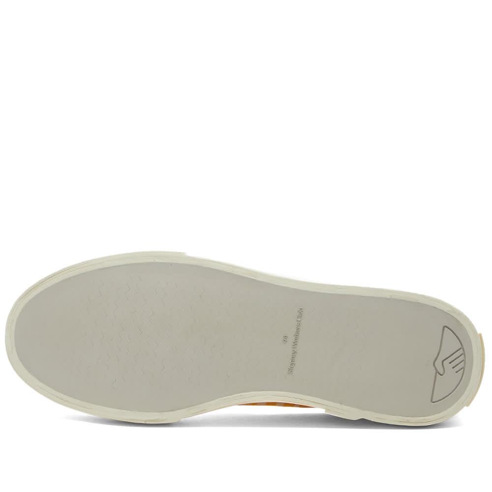 Stepney Workers Club Dellow Ink Stripe Sneaker - Solar
