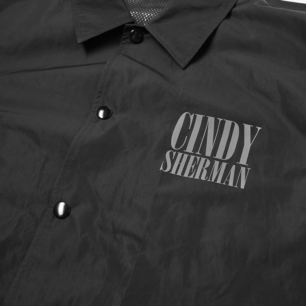 Undercover Cindy Sherman Photo Coach Jacket - Black