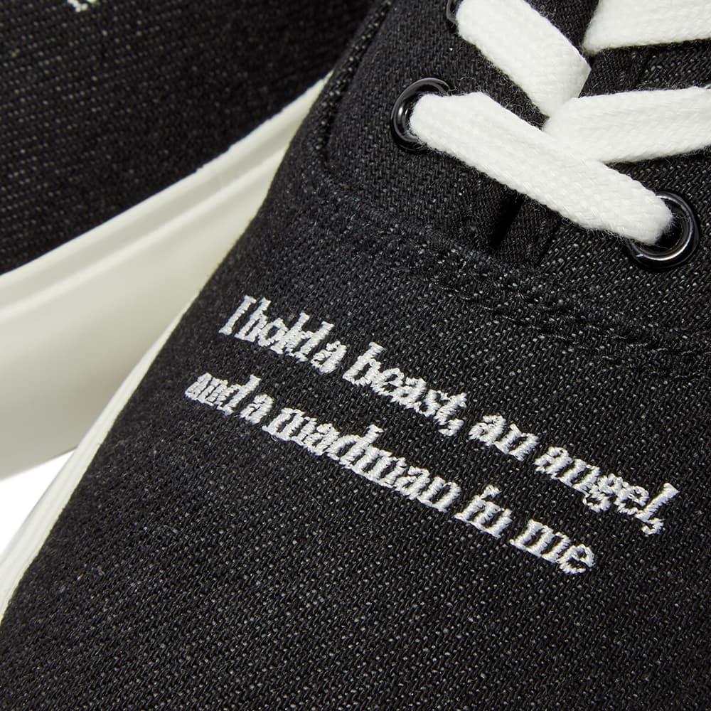 Undercover Dylan Thomas Denim Sneaker - Black