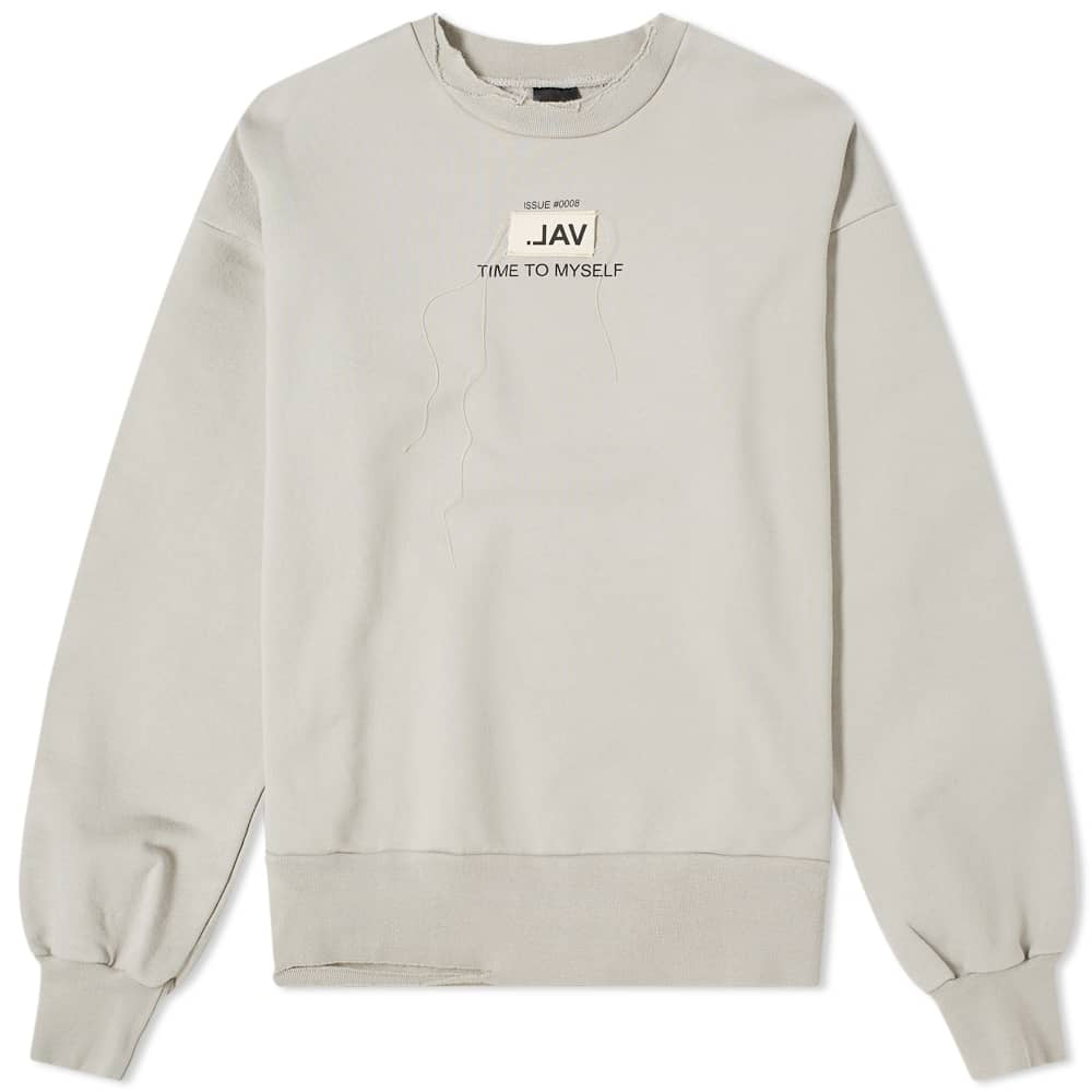 Val Kristopher Issue 0008 Patch Logo Sweat