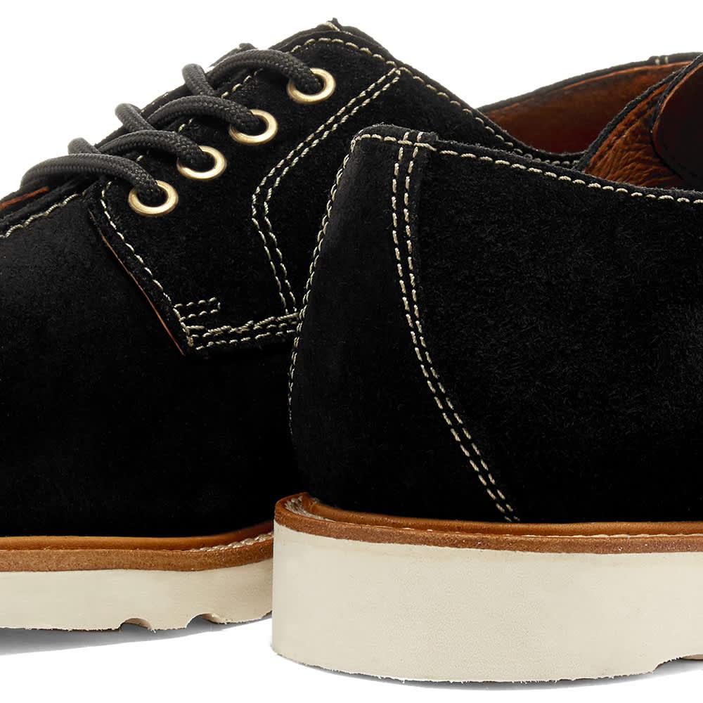 Wild Bunch MST 4 Vibram Sole Seam Shoe - Black Suede