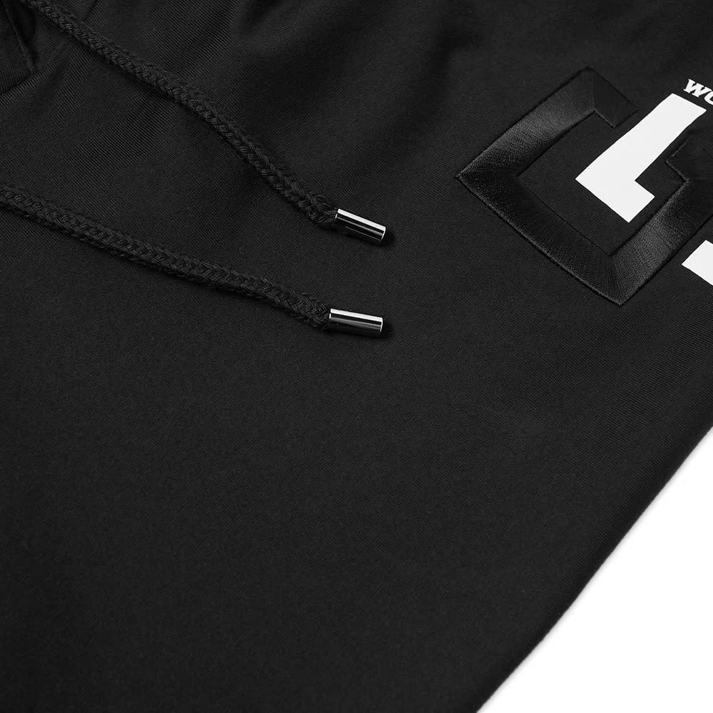 Wooyoungmi Geometric Logo Hoody - Black