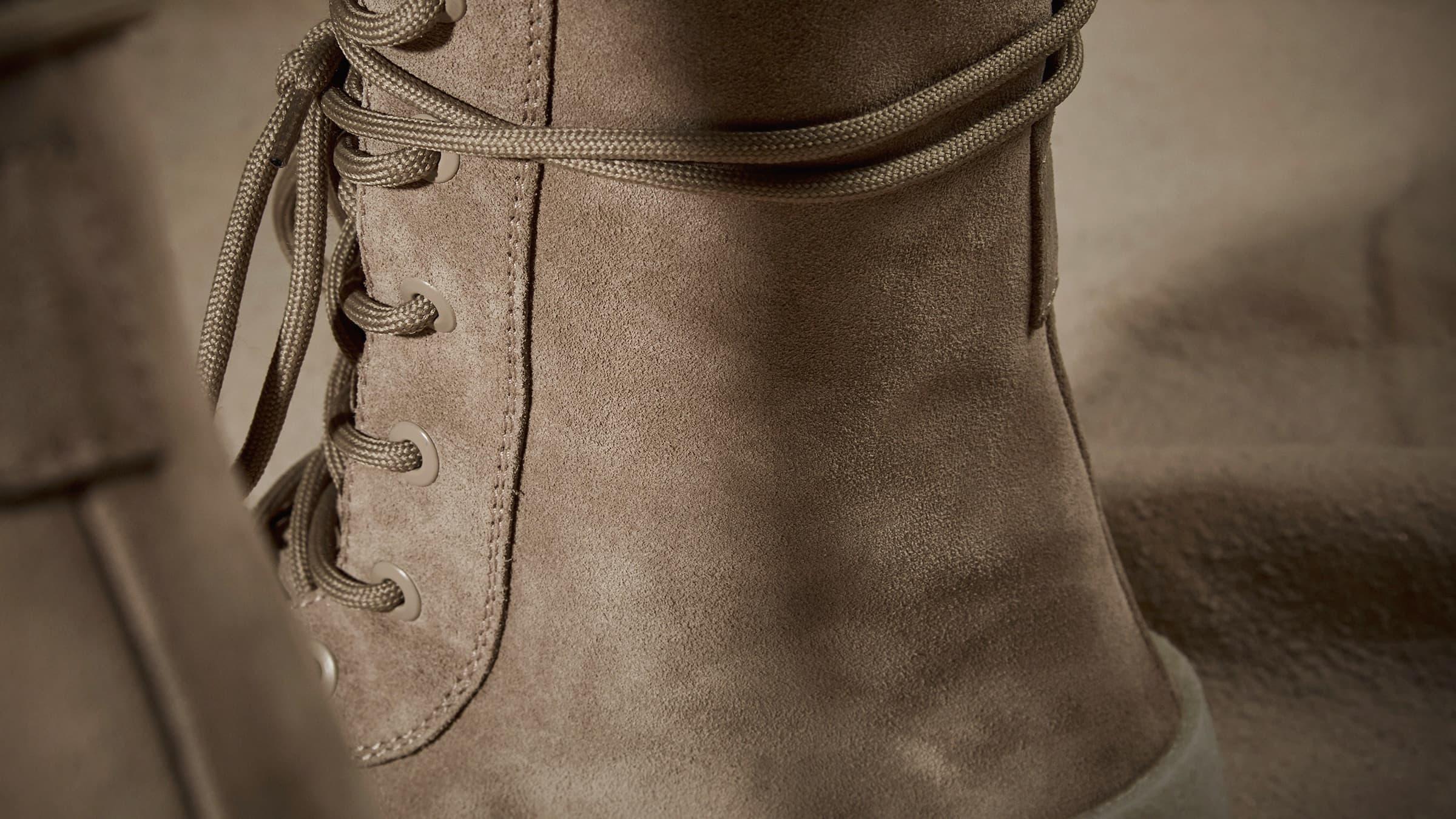 Yeezy Season 2 Crepe Boot - Taupe