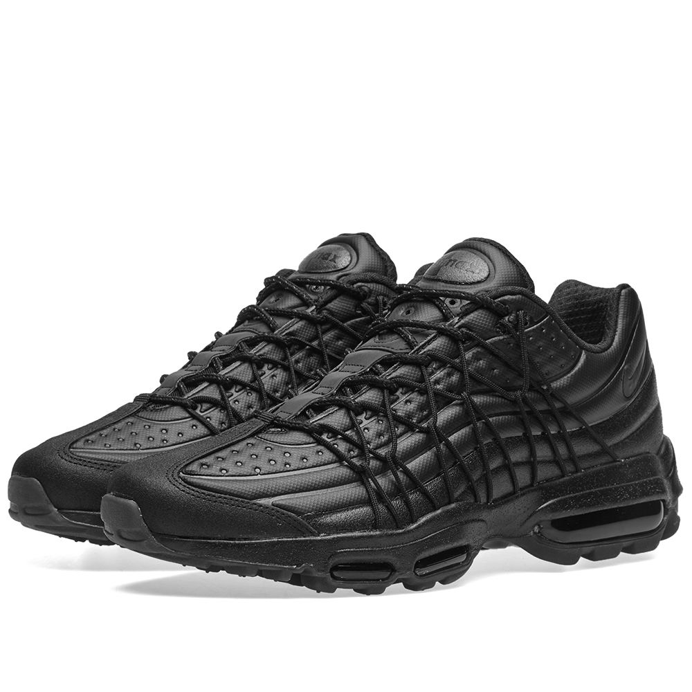 Nike Air Max 95 Ultra Premium SE Black   Metallic Hematite  6f3fb6fd7