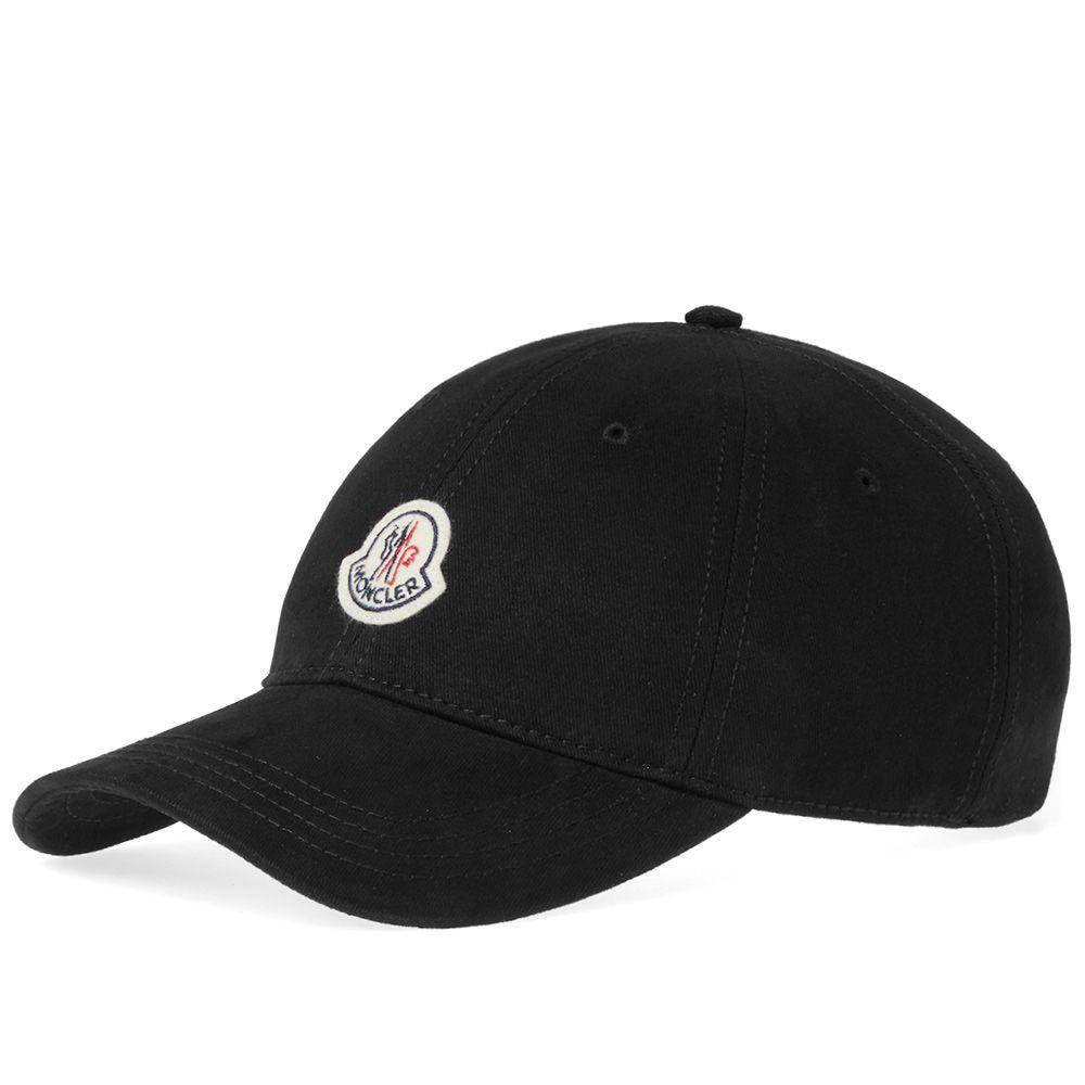 c1694937ed54 Moncler Logo Baseball Cap Black
