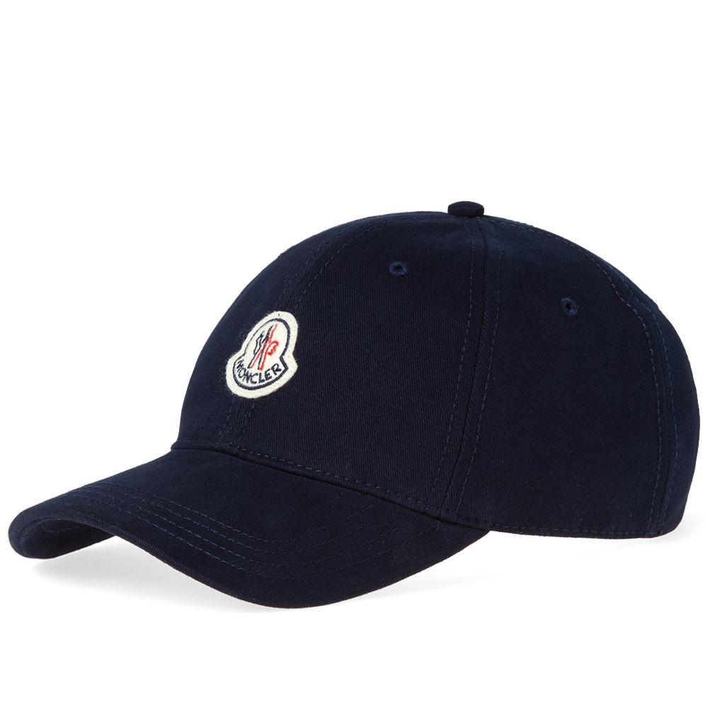 Moncler Logo Baseball Cap Navy  73ff674adee