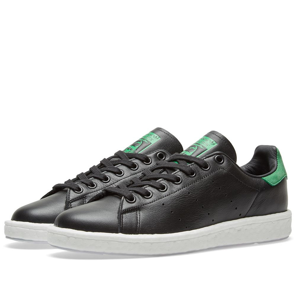 Adidas Stan Smith Boost Black   Green  5b3258cbd465b