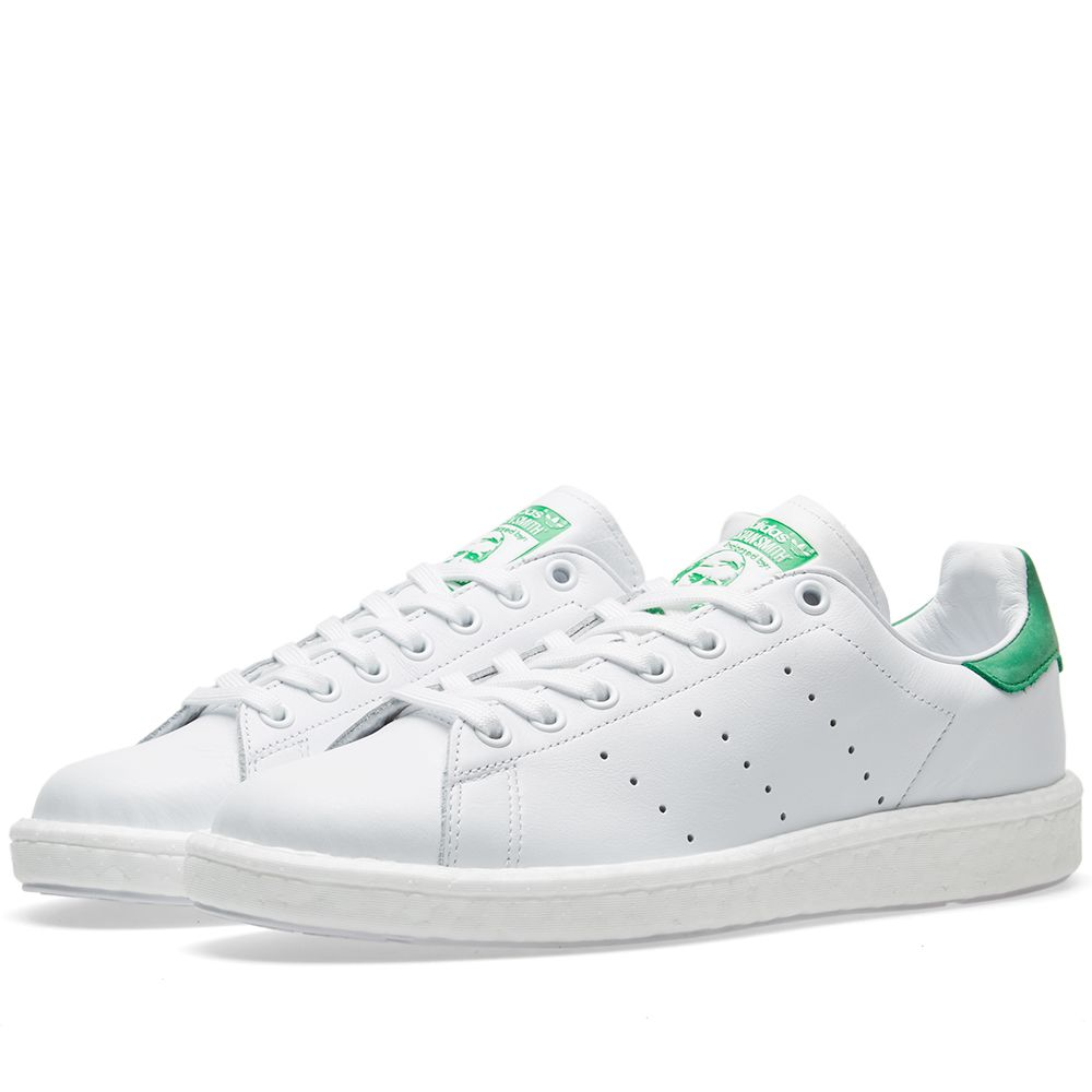 Adidas Stan Smith Boost White   Green  ff4b244854f19