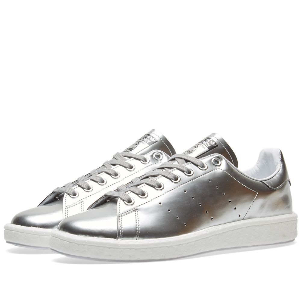 Adidas Women s Stan Smith Boost W. Silver   White.  119  59. image 72a650db8ee47