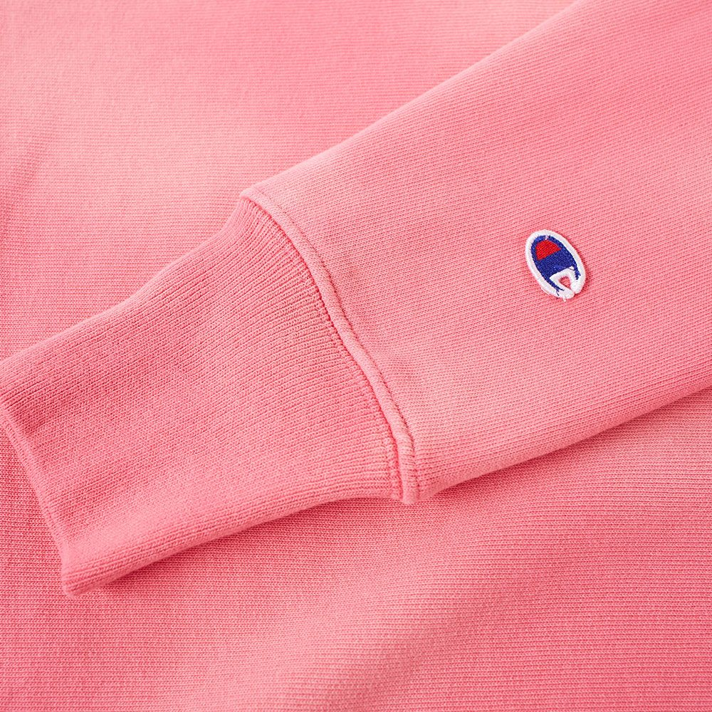 66620903eb34 Champion Reverse Weave Enzyme Washed Crew Sweat Pink