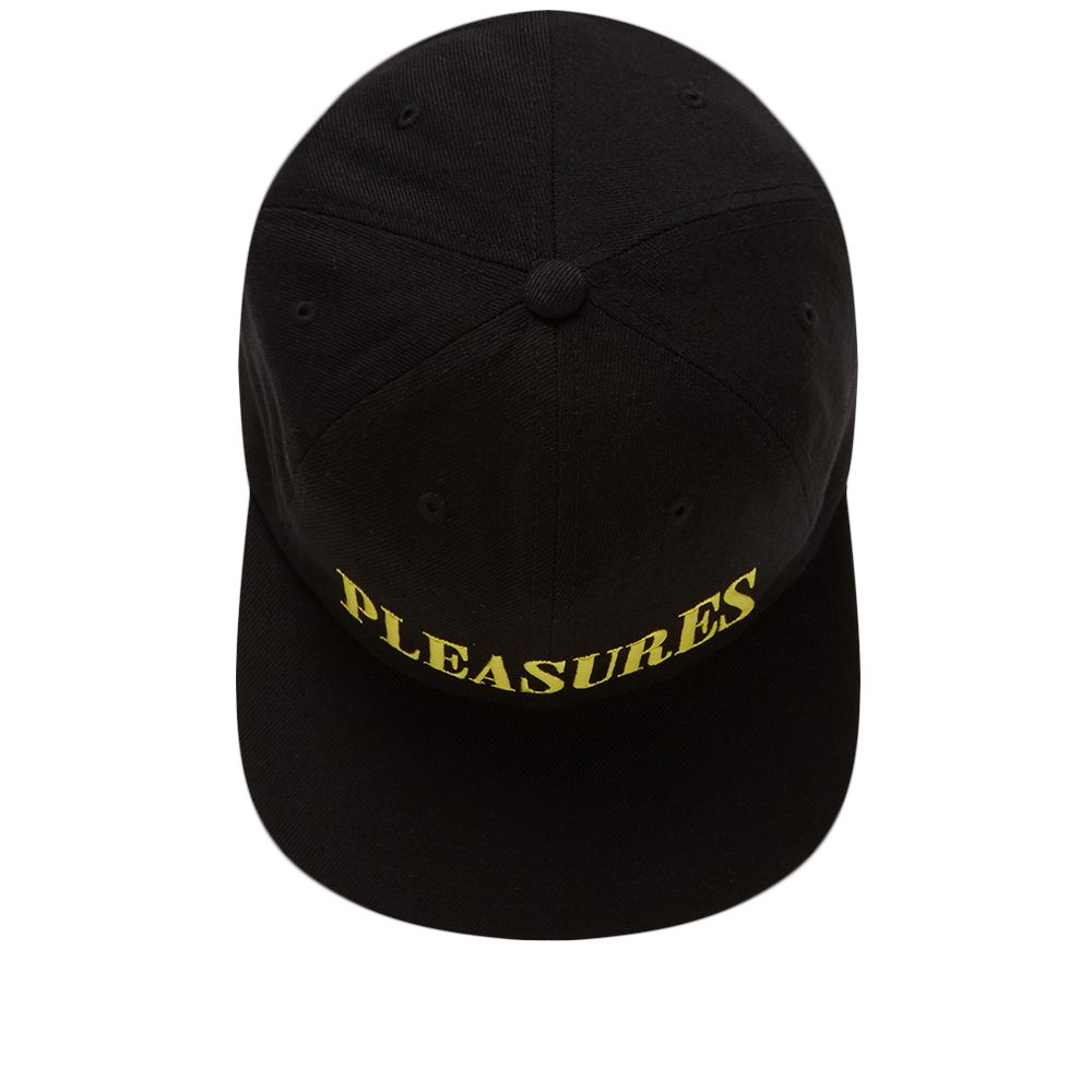 554f58c86cd PLEASURES Core Logo Snapback Cap Black