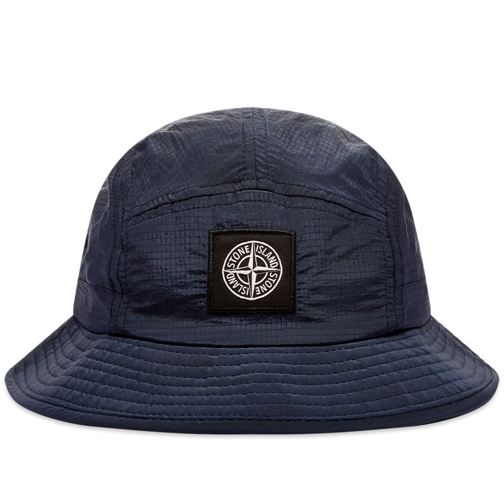 Stone Island Nylon Bucket Hat Navy Marine  7e6ac573df0