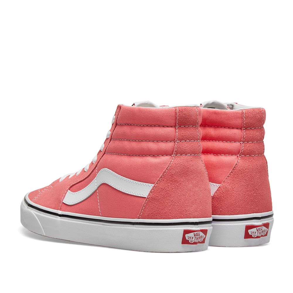 19b51ab6fcc Vans UA SK8-Hi Strawberry Pink   True White