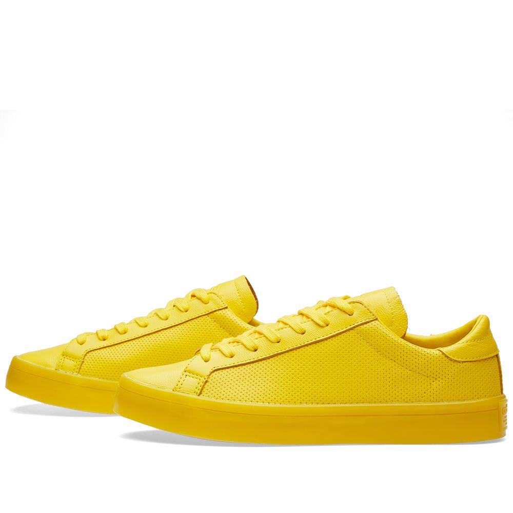 huge selection of f78f4 def2d Adidas Court Vantage Adicolor. EQT Yellow. CA95 CA45. image