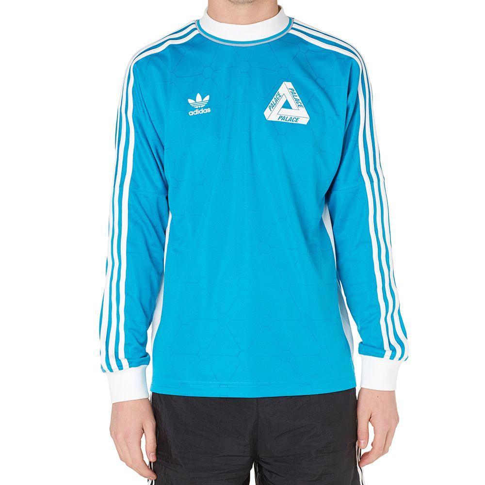 b162346cacf Adidas x Palace Long Sleeve Team Shirt Bold Aqua