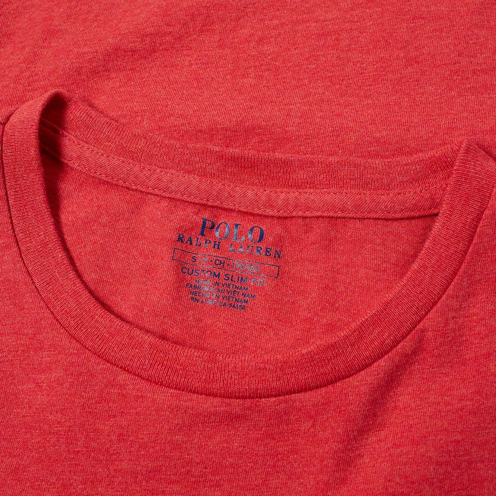 82778dbe377c7 homePolo Ralph Lauren Washed Marl Crew Neck Tee. image. image. image.  image. image. image. image. image