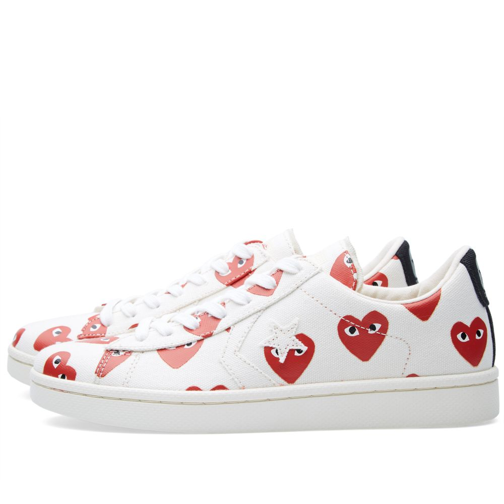 635b32646158 homeComme des Garcons Play x Converse Pro Leather Low. image. image. image.  image. image. image. image