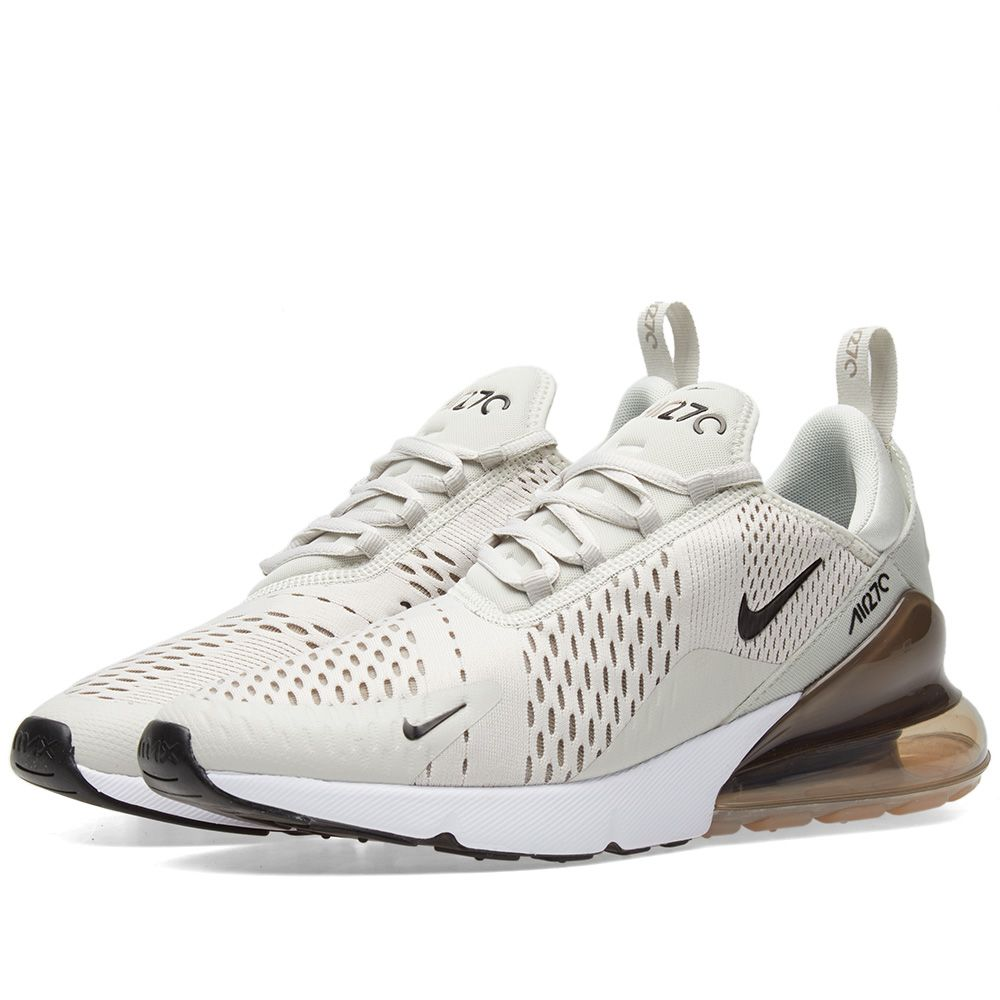 official photos 15f42 bf1b3 Nike Air Max 270 Light Bone, Black  Sepia  END.