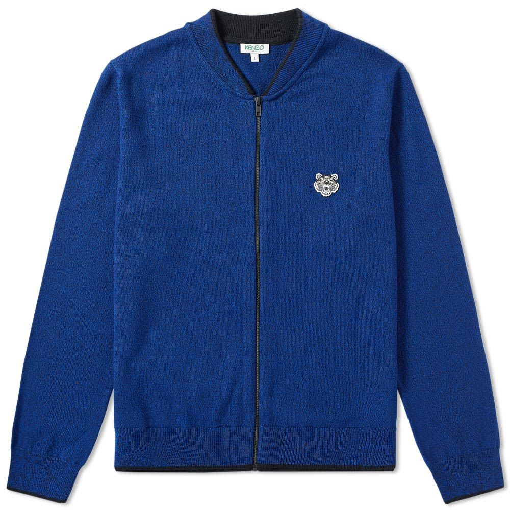 2e2c07a0 Kenzo Tiger Zip Cardigan. Navy. S$369 S$189. image