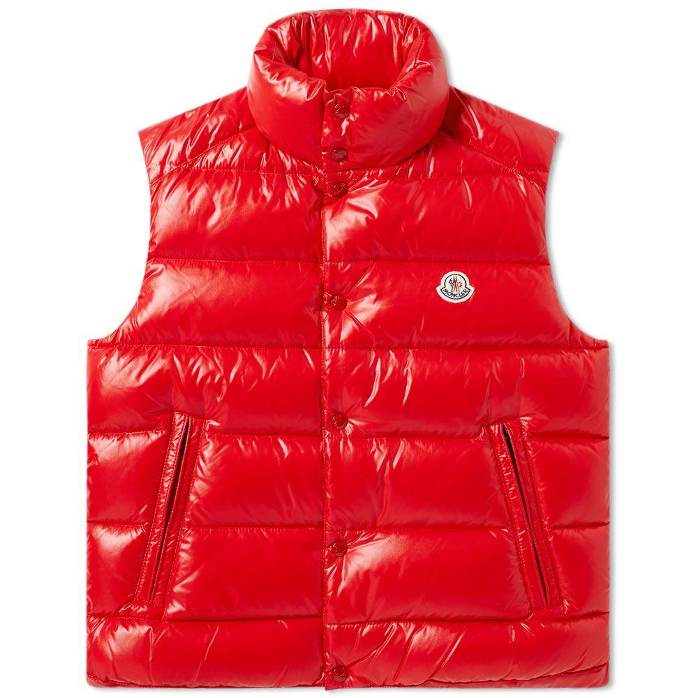 21ae670e1 Moncler Tib Gilet Red
