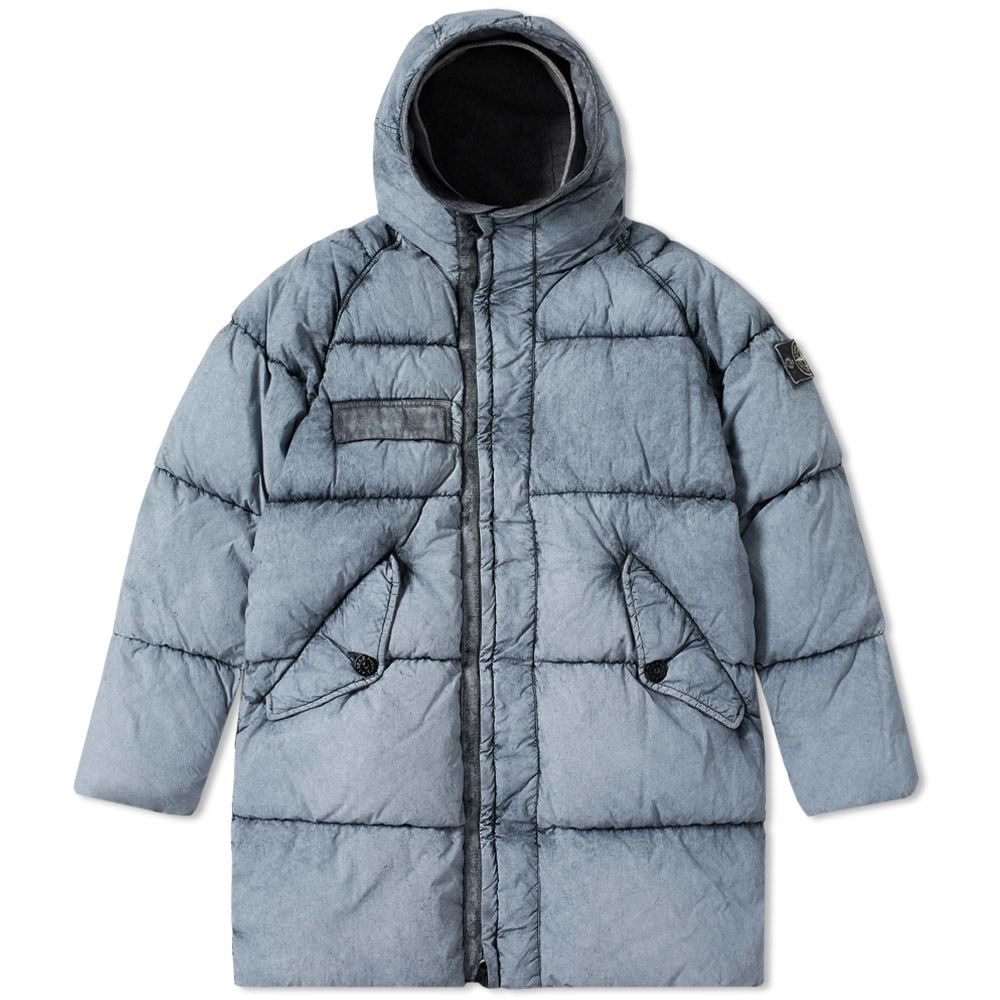 c3ce32a8b7e1 Stone Island Tela Nylon Down Frost Jacket Black