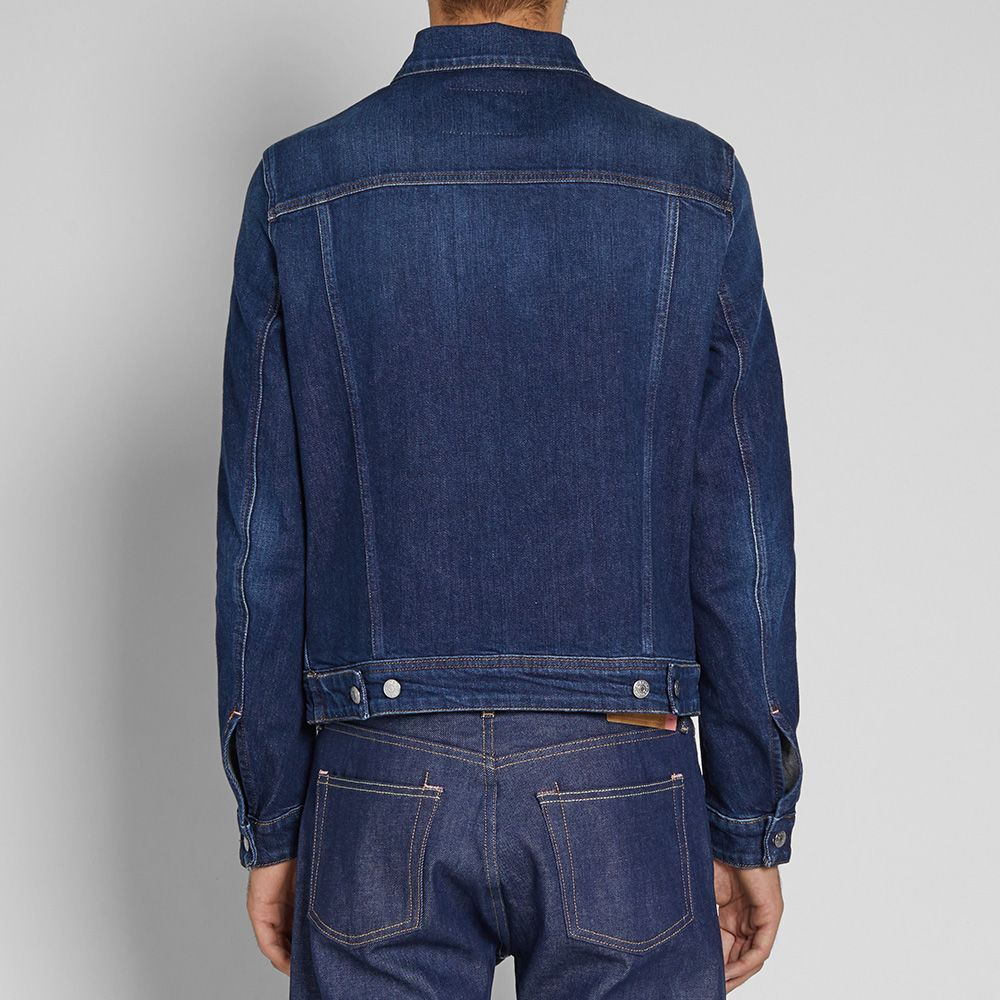95484799bd9 Acne Studios Pass Denim Jacket Dark Blue