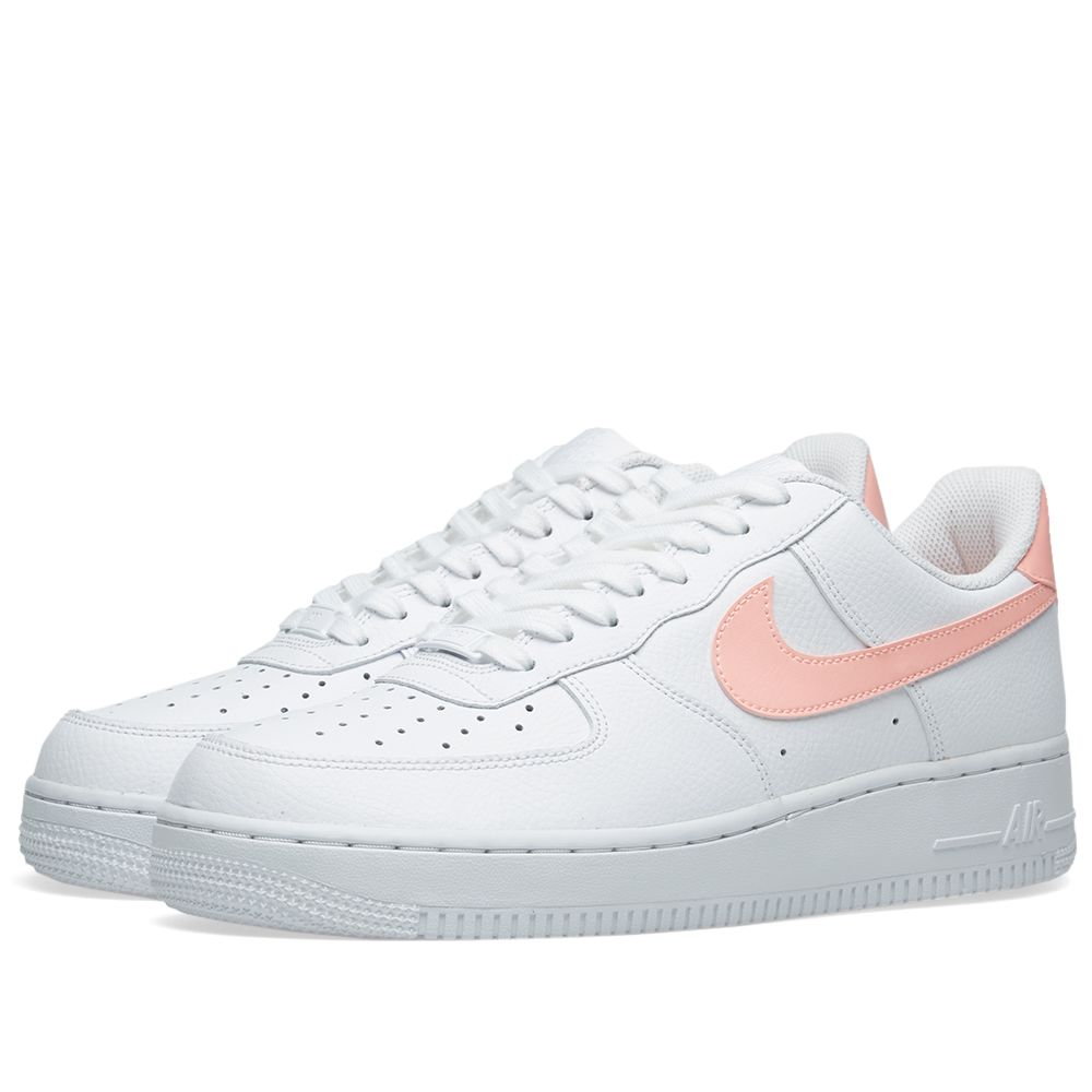 970c97141341 Nike Air Force 1  07 W White   Oracle Pink