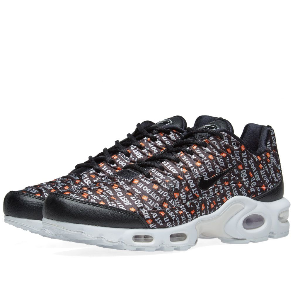 sports shoes 4c4eb 124b3 Nike Air Max Plus SE W Black, White  Orange  END.