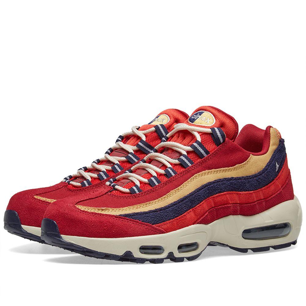 a808a5420605 Nike Air Max 95 Premium Red