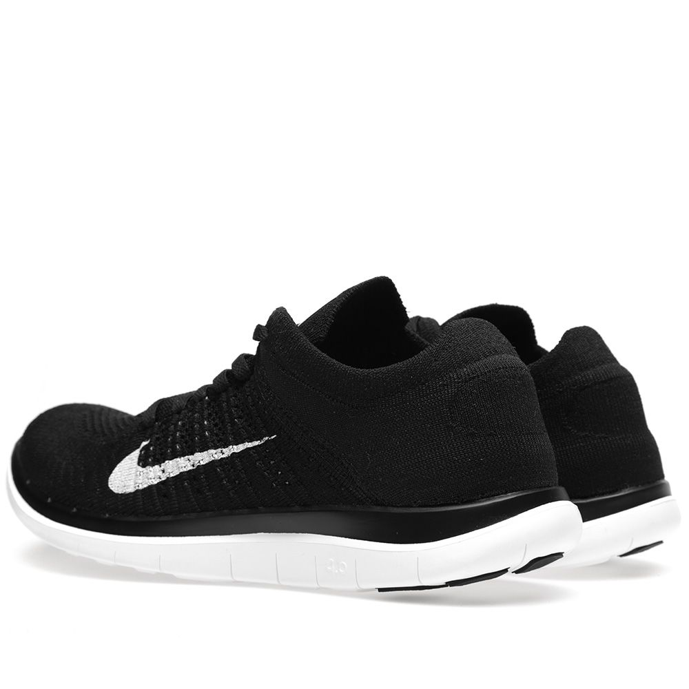 on sale 18acc c3a7b Nike Free 4.0 Flyknit Black   END.