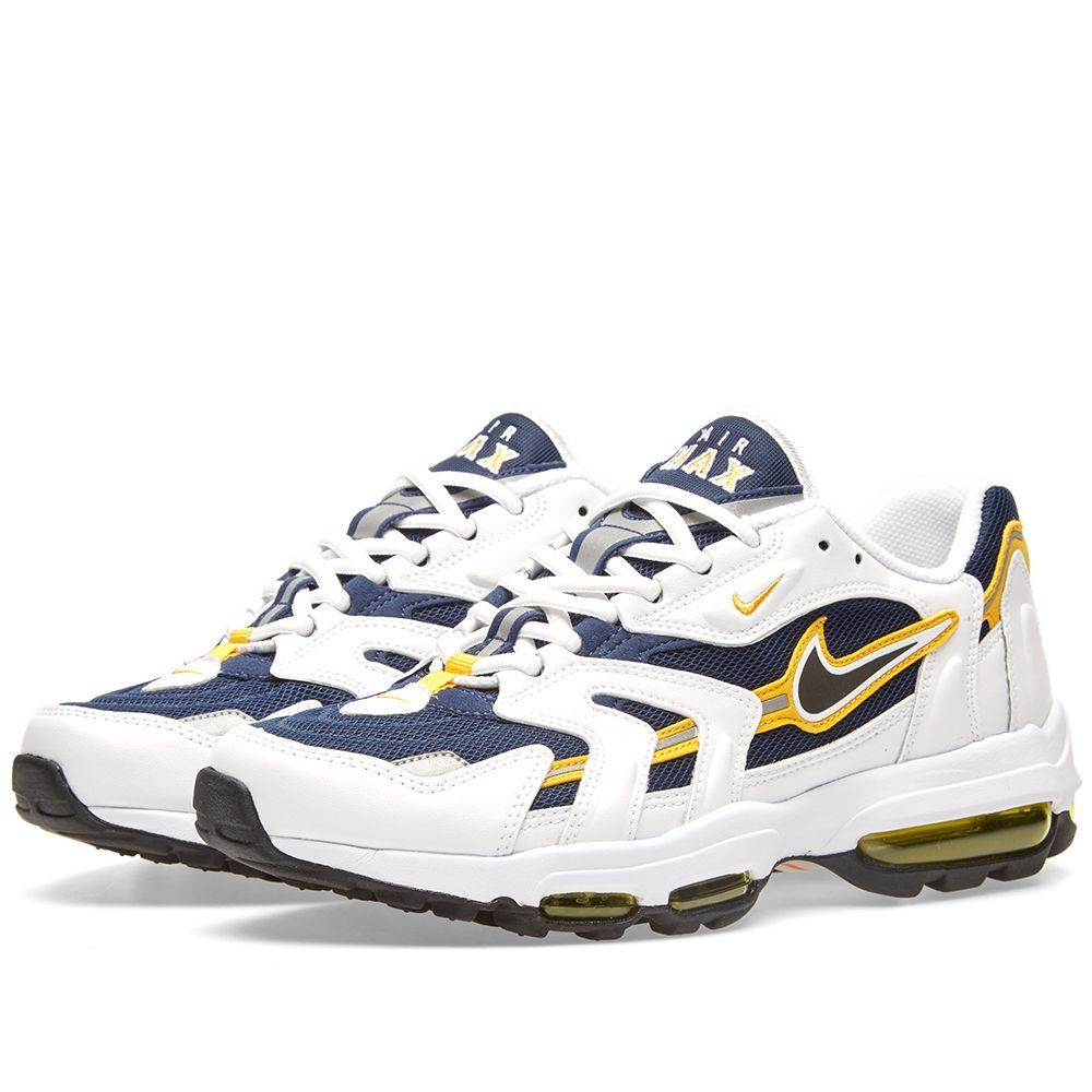 27d77b327d5544 Nike Air Max 96 II XX. Midnight Navy   Black. £145 £95. Plus Free Shipping.  image